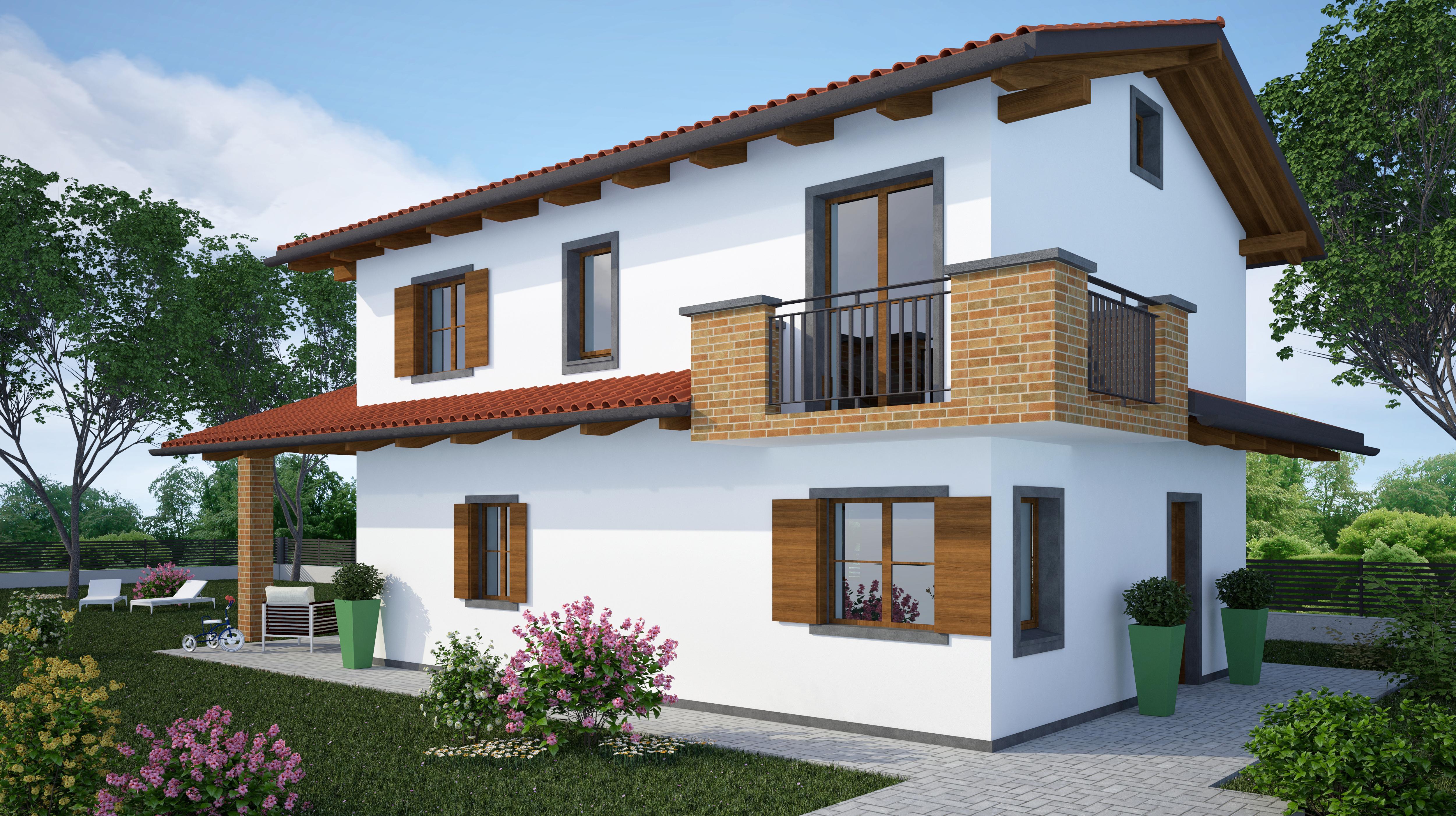Nuovo progetto di una villa singola a Pieris