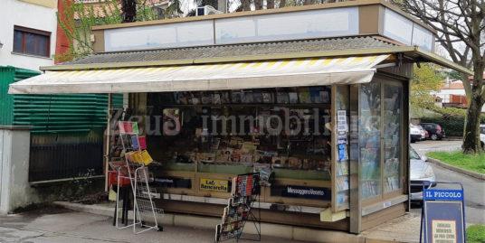 Edicola di riviste e giornali zona Poste a Monfalcone