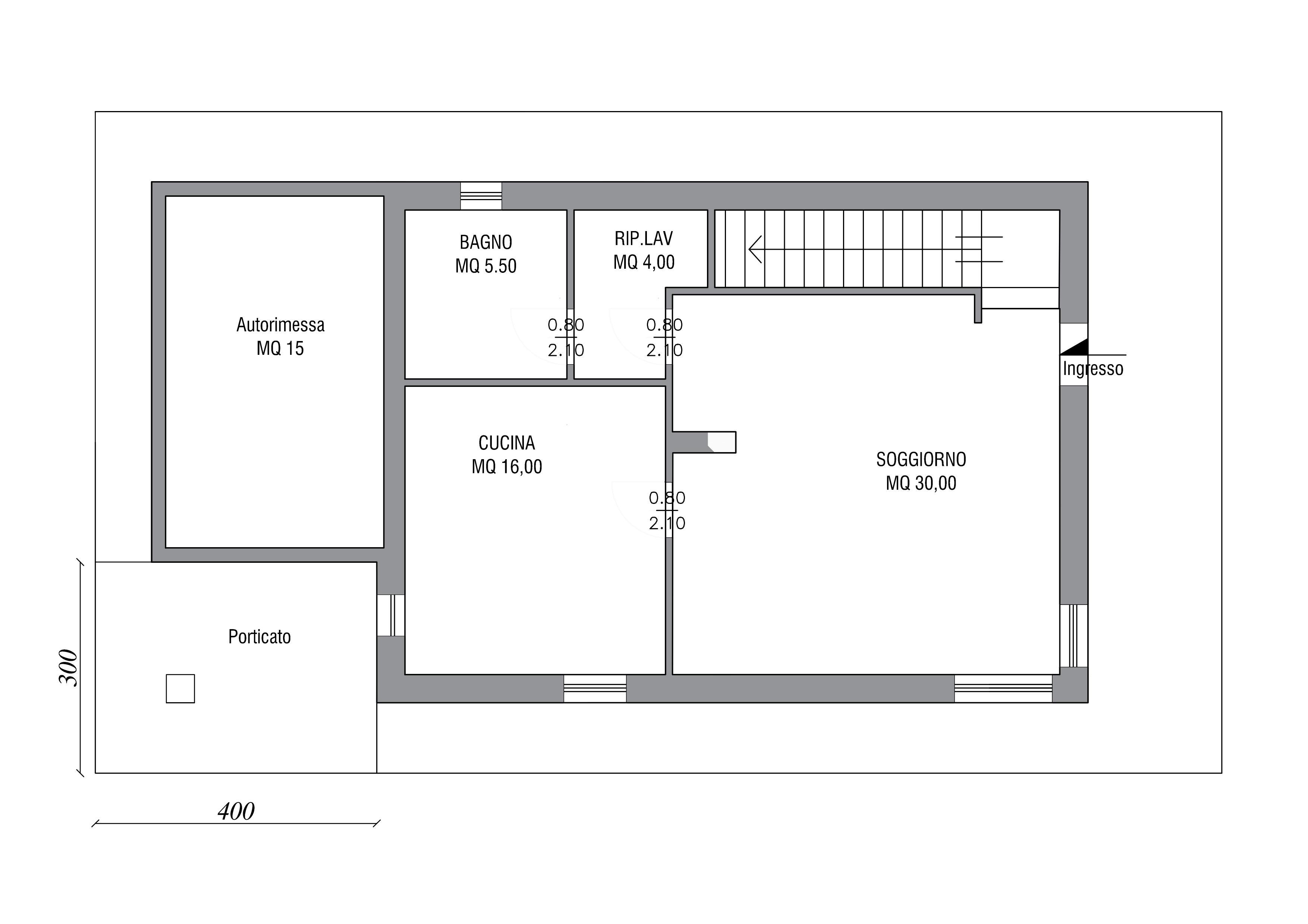 Progetto Appartamento 50 Mq nuovo progetto di una villa singola a pieris – zeus immobiliare