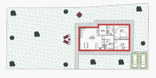 Villetta singola su unico livello a Pieris
