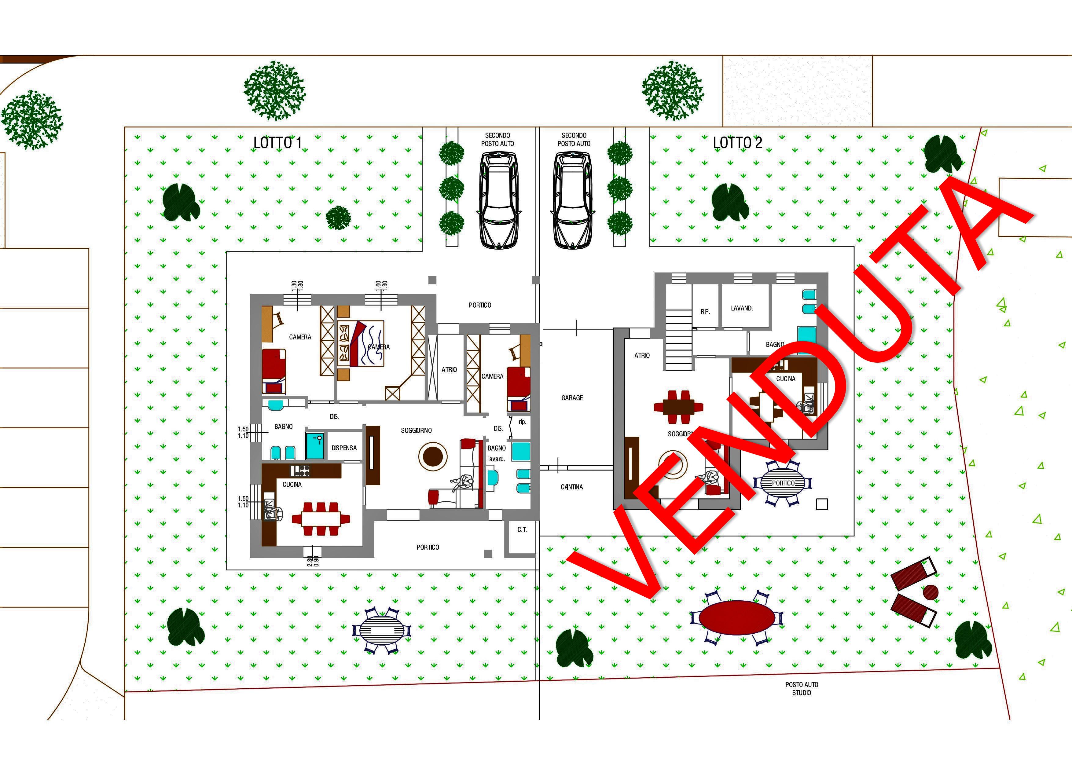 Nuova villa singola su unico livello a Staranzano
